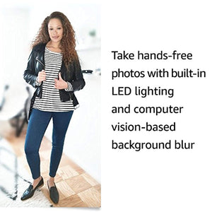 Echo Look | Hands-Free Camera and Style Assistant with Alexa—includes Style Check to get a second opinion on your outfit
