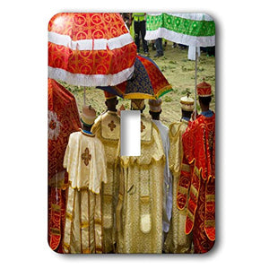 3dRose Danita Delimont - Religion - Pilgrims celebrating Meskel Festival, Lalibela, Ethiopia - Light Switch Covers - single toggle switch (lsp_276441_1)