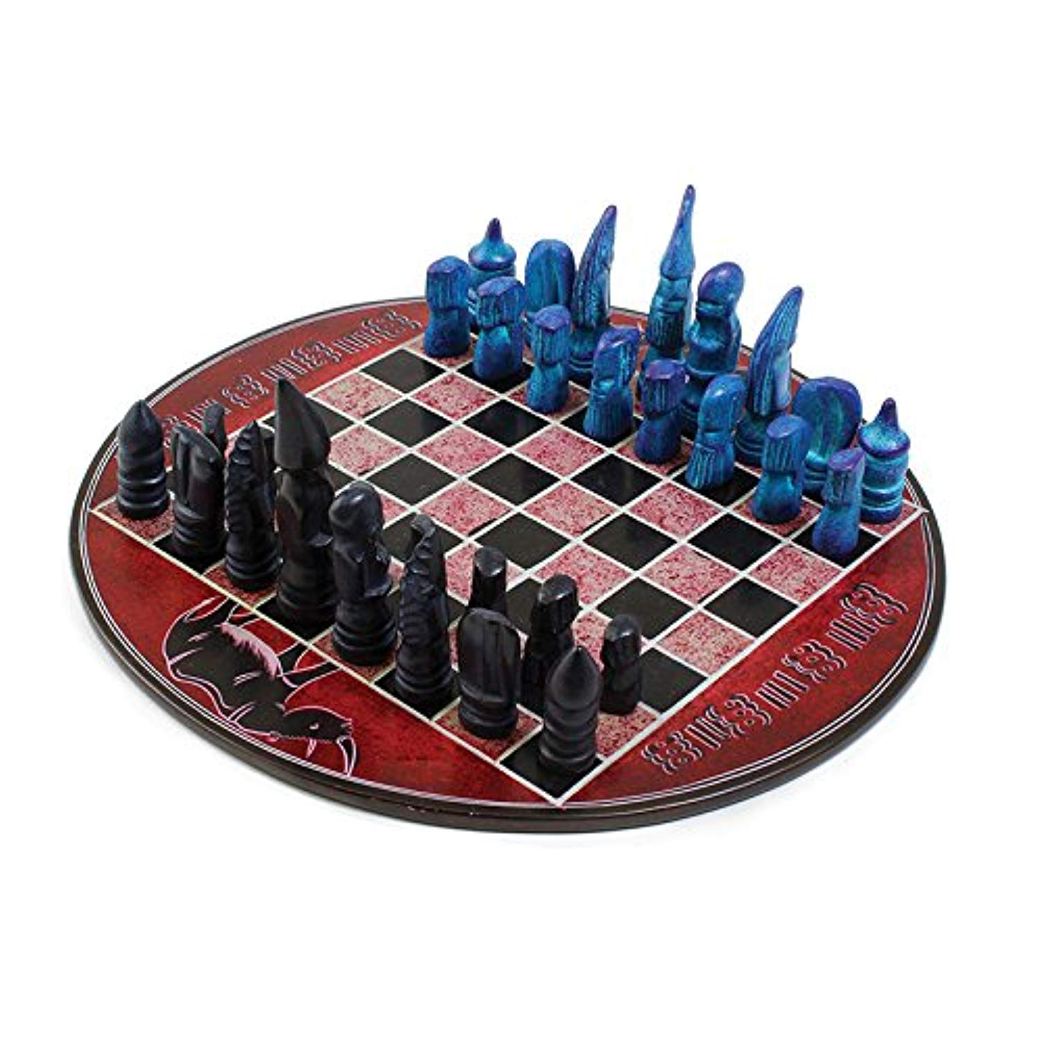 African Soapstone Chess Set