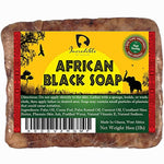 #1 Best Quality African Black Soap - Bulk 1lb Raw Organic Soap for Acne, Dry Skin, Rashes, Burns, Scar Removal, Face & Body Wash, Authentic...