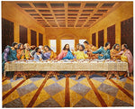 African American Black The Last Supper Jesus Christ Religious Picture Art Print - Ufumbuzi - Home