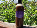 Organic Hair Growth Raw African Black Soap With Peppermint Oil Clarifying Shampoo