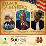 African American Expressions: Black History 500pc Jigsaw Puzzle - Ufumbuzi - Home