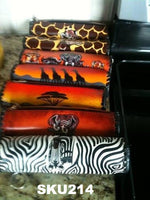 African Print Pencil Case