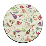 "Usie2s African American Black Woman Circular Chair Pads Non-Slip Round Cushion Pad Kitchen Chairs Stool Cover 16"" - Ufumbuzi - Home"