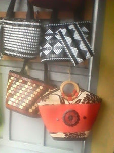 Leather & Fabric Hand Bags - Ufumbuzi - Home