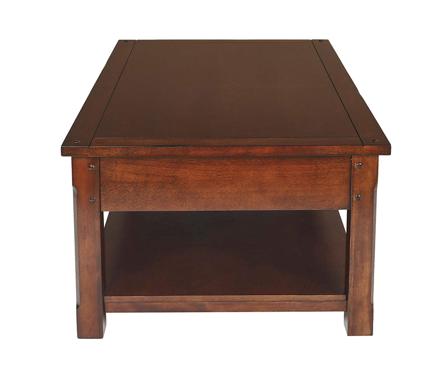 "New Classic Corsica 52"" Entertainment African Chestnut Console - Ufumbuzi - Home"