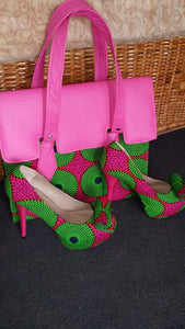 Hand bag and Shoes set