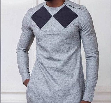 Men African Design Shirt - Ufumbuzi - Home