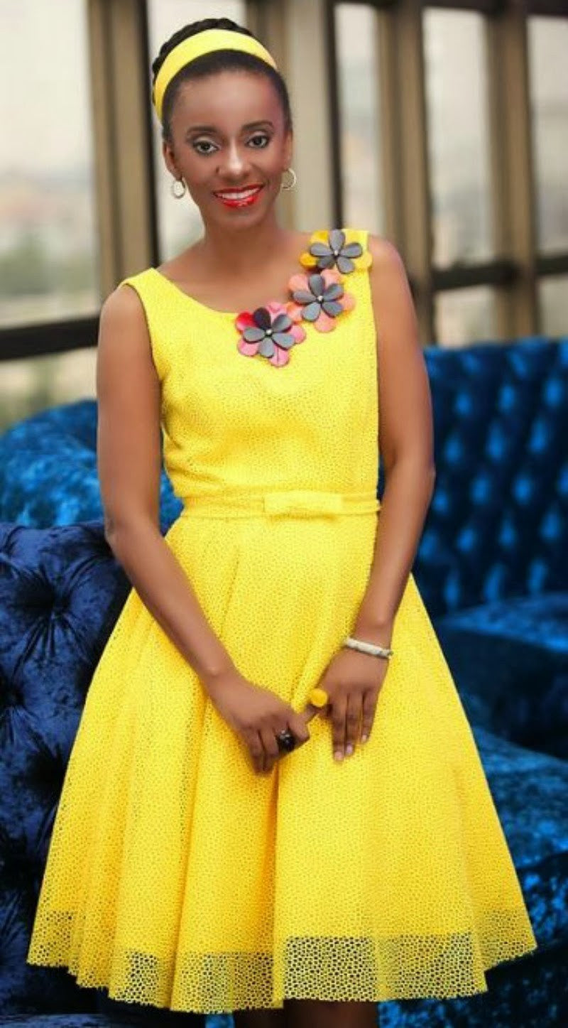 Sunflower Dress - Ufumbuzi - Home