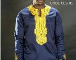 African Embroidered Mens Shirts Stylish design