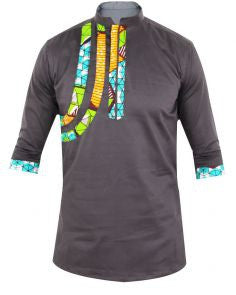 African Men Shirt Creative Line - Ufumbuzi - Home