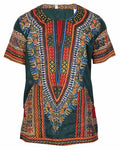 Dashiki Printed Men Shirt - Ufumbuzi - Home