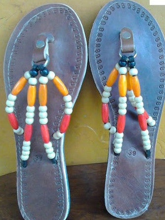 Hand Made Leather Sandels Uganda
