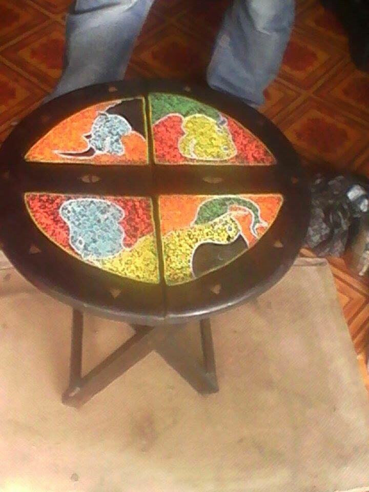 African Small Table