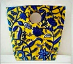 African Printed Purse