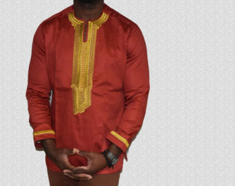 African Men Stylish Shirts