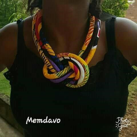 African Necklace Design