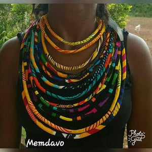 African Necklace - Ufumbuzi - Home