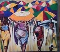 African Oil Painting Art