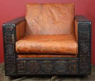 Hand Carved Arm Chair - Ufumbuzi - Home