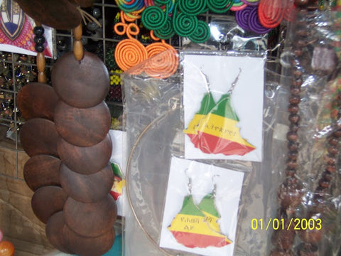 Ethiopian Earrings Joro