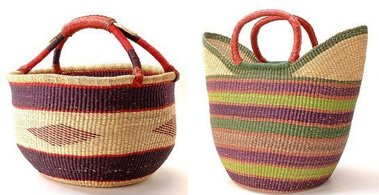 Bolga Baskets Mix 2 - Ufumbuzi - Home
