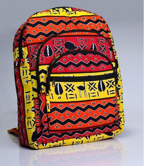 Ankara Kente Backpack