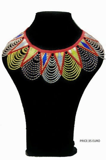 Traditional Beaded Neckless - Ufumbuzi - Home