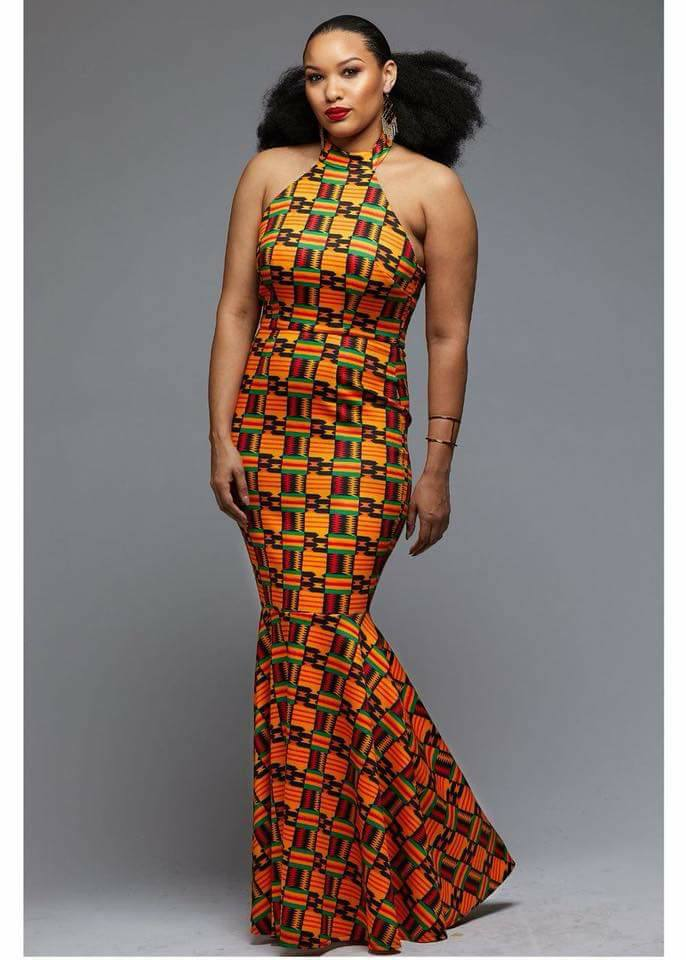 Kante Long Dress - Ufumbuzi - Home