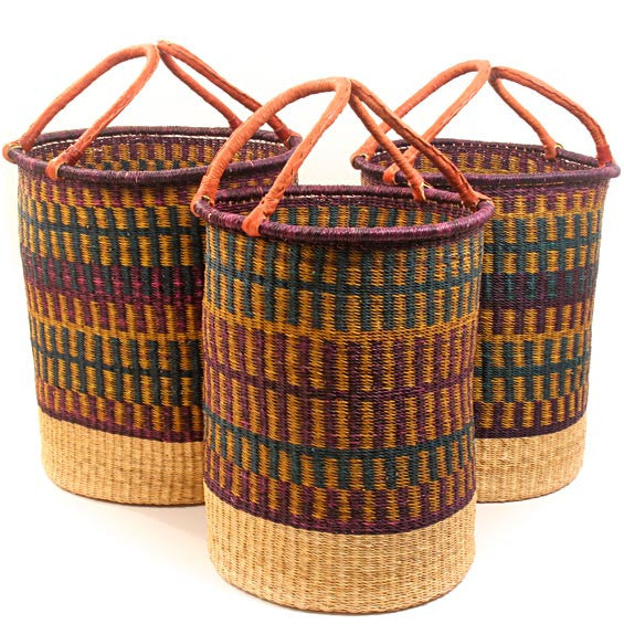 Bolga Laundry Baskets