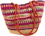 Bolga Basket Beach Purse