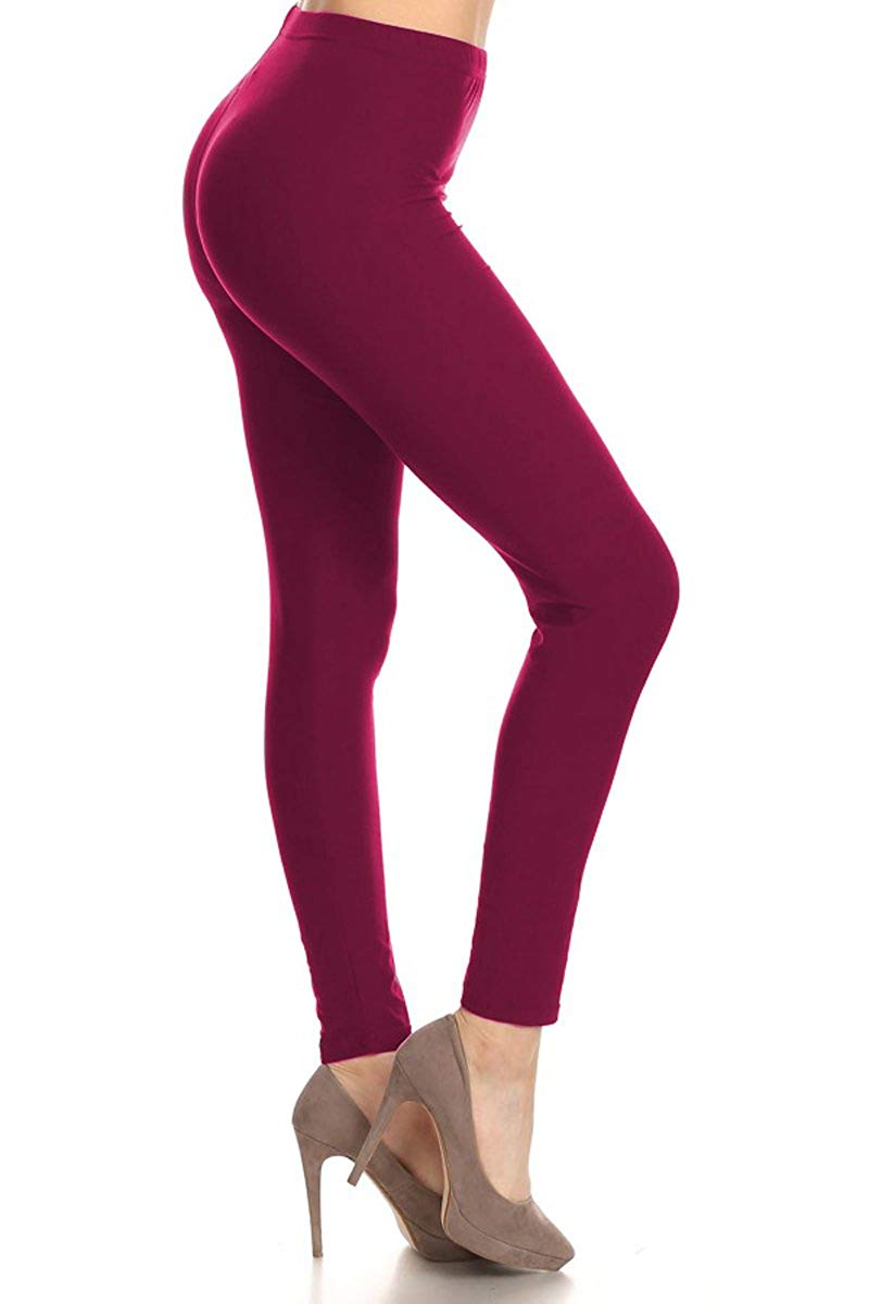Leggings Depot Buttery Soft Classic Leggings - 42+ Colors & Carry 1000+ Prints