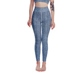 Denim Printed Leggings, Capris and Shorts - Ufumbuzi - Home