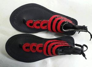27aa515dca75a african sandals,leather beaded sandals, African handmade sandals,