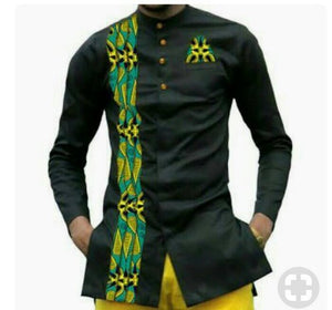 Awesome Ankara styles for men, African fashion, African men's fashion, Agbada,