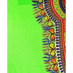 Authentic Dashiki African Print Fabric. Sewing Material for Dress, Mens Shirts, Skirts, Kids Outfits. 6 Yards