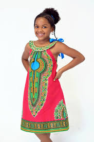 Dashiki Dress For Kids - Ufumbuzi - Home