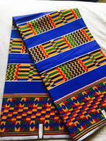 Ghana Kente Print Fabrics 100% Cotton - Ufumbuzi - Home