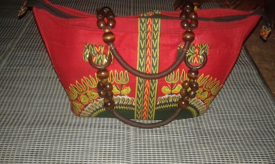 Unique African Fabric Hand Bag