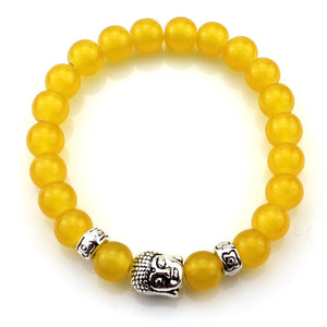 (3 pcs/lot) Natural Stone Buddha Bracelets Hot Sale Multicolor Bracelet Wristband For Women Men Fashion Jewelry Wholesale - Ufumbuzi - Home