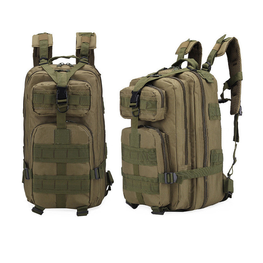Multi-functional 3P  camouflage shoulder bag 20L-35L outdoor leisure  backpack hiking backpack - Ufumbuzi - Home