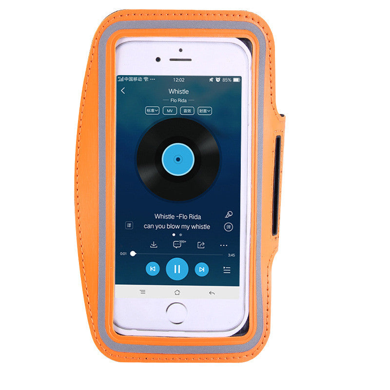IPHONE Waterproof PU Sports Running Arm Band Phone Case