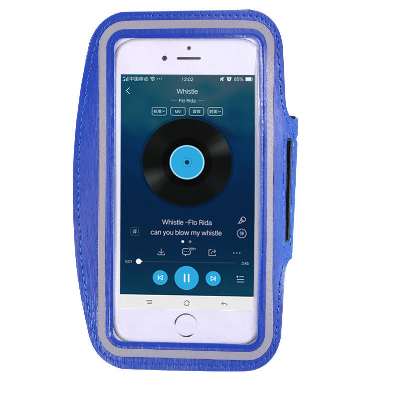 IPHONE Waterproof PU Sports Running Arm Band Phone Case - Ufumbuzi - Home