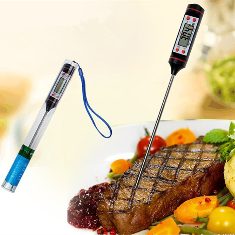 22.5CM Black Food Electronic Thermometer