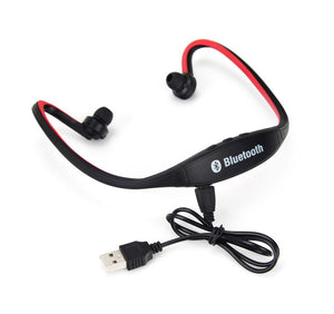 Sports Bluetooth Earphone S9 Support TF/SD Card Wirless Hand-free Auriculares Bluetooth Headphones - Ufumbuzi - Home