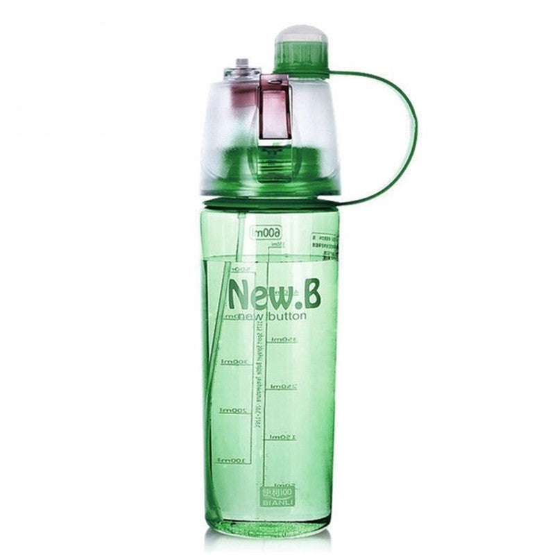 Outdoor Portable Atomizing Spray Water Bottle