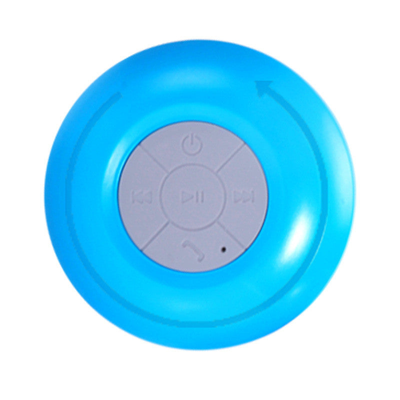 Mini Subwoofer Handsfree Built-in Suction-Cup Bluetooth Speaker