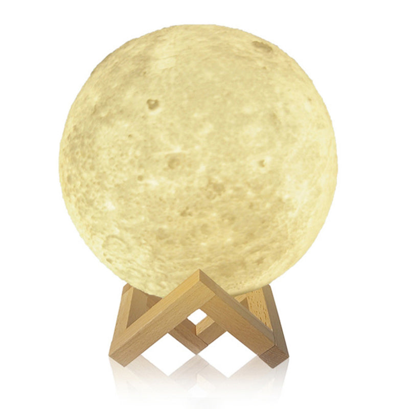 3D Print Night Moon LED Lamp - Ufumbuzi - Home