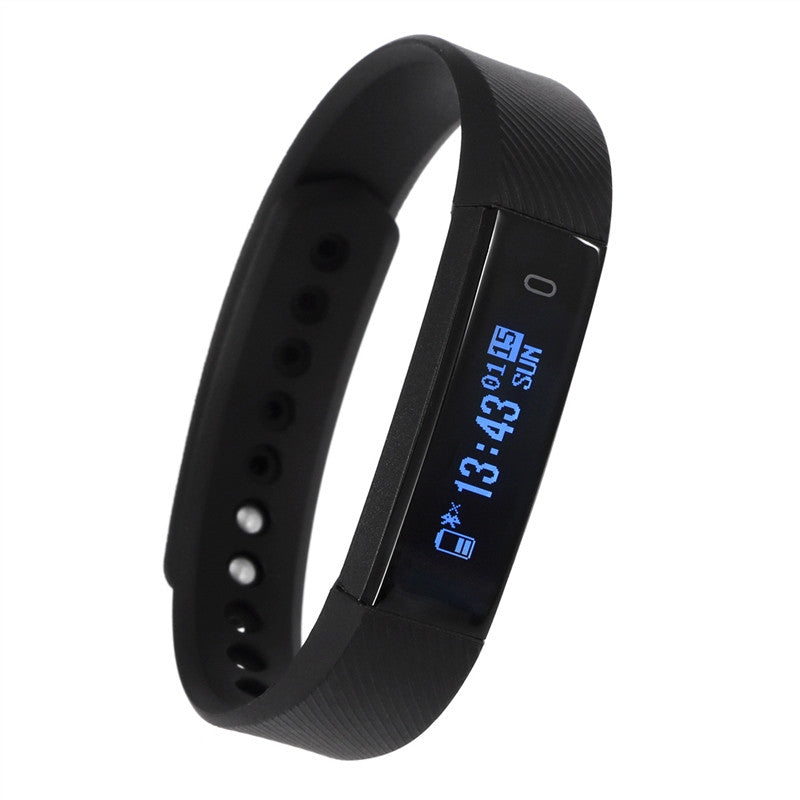 ID115HR Bluetooth Heart Rate Monitor Smart Bracelet Fitness Tracker Step Counter Wristband - Ufumbuzi - Home
